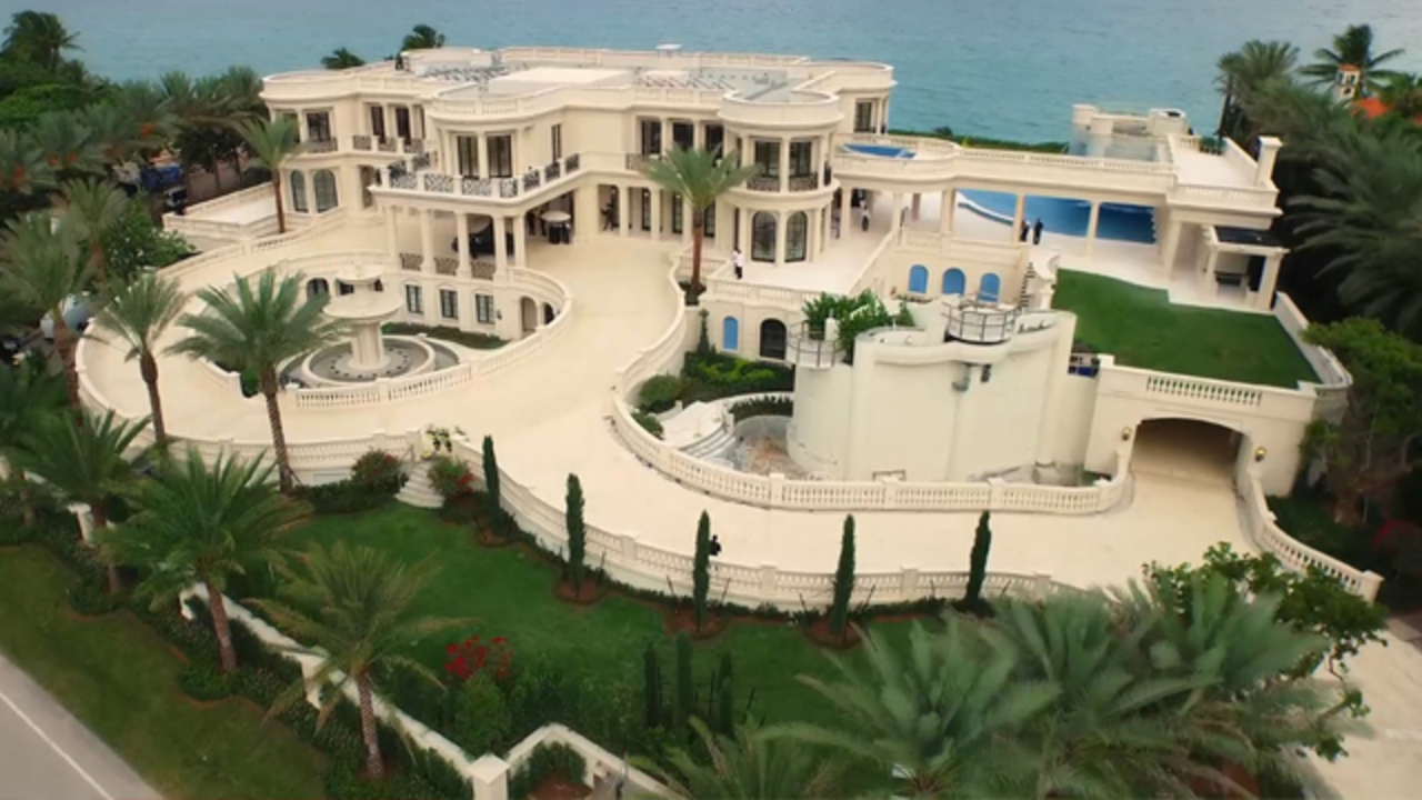 Most expensive home in us for sale in hillsboro beach for Biggest house in miami