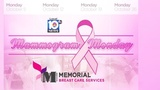 Breast cancer awareness' month 'Mammogram Monday' begins