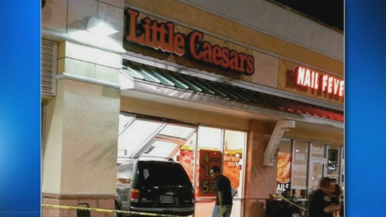 10 Hurt After Car Crashes Into Homestead Little Caesars