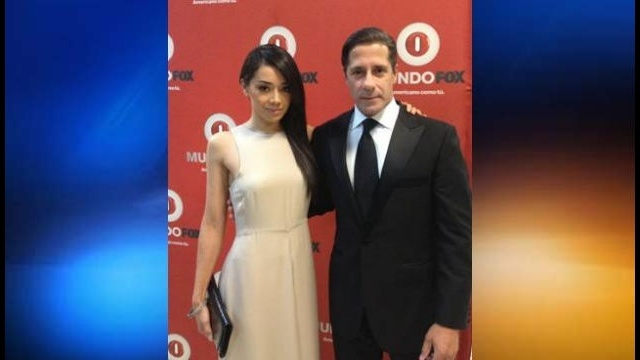 Alberto Carvalho with Aimee Garcia