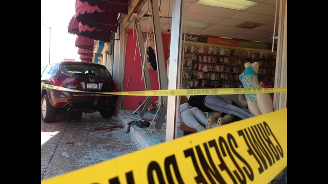 Car into store 2