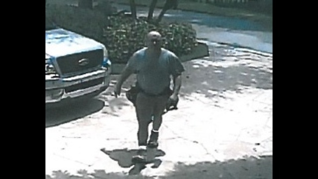 Coral Springs attempted burglary suspect closeup