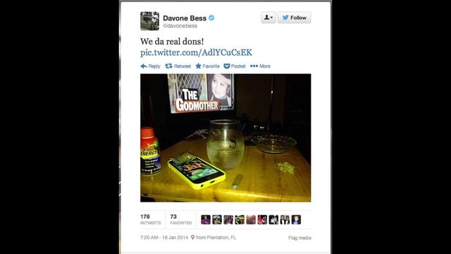 Davone Bess tweet