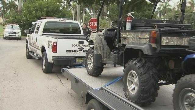 Doral police ATV