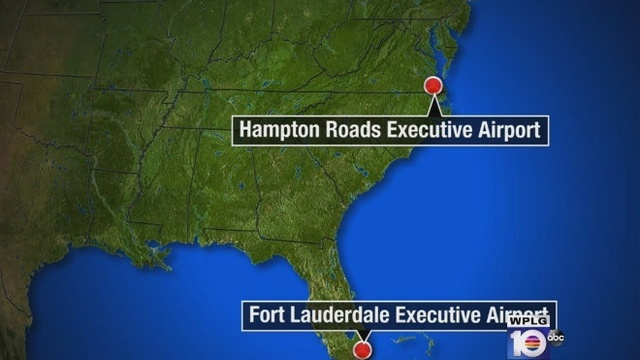 Fort Lauderdale Executive Airport to Virginia