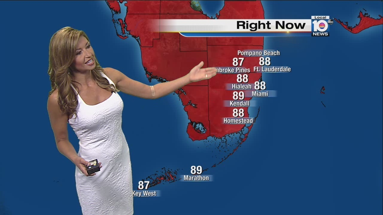 Weather forecast for Fourth of July fireworks in South Fla.