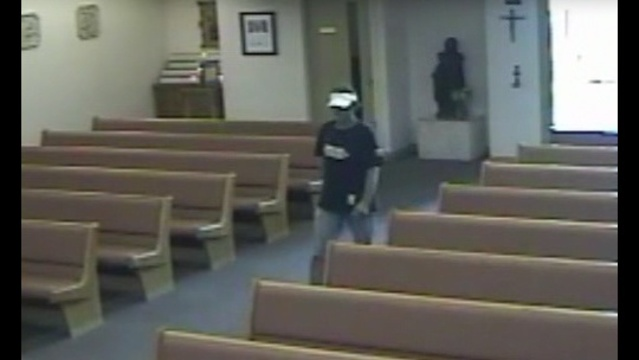 Grinch steals from church