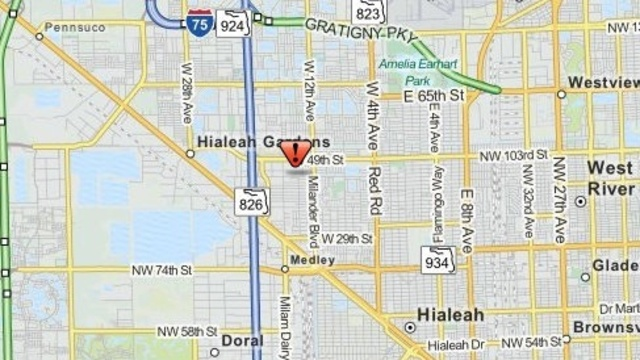 Gunman sought in Hialeah