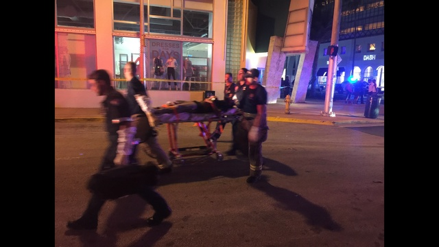 Multiple People Shot On Ocean Drive In South Beach Miami