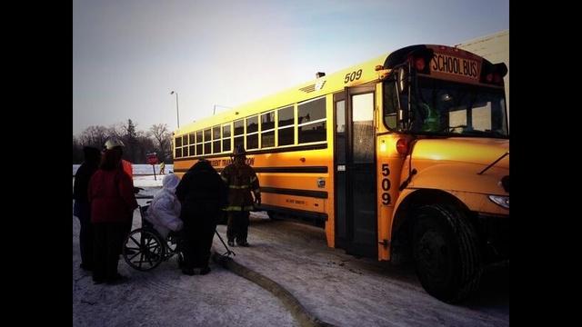 Jason Manor warming bus