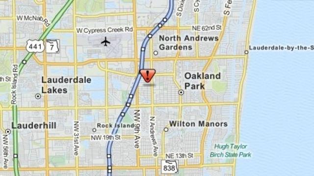 Oakland Park map