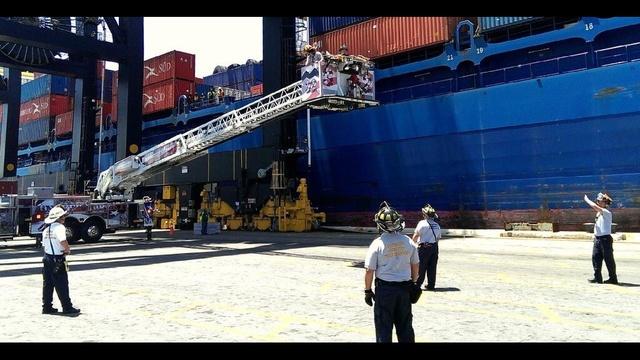 Port Everglades injured worker 2