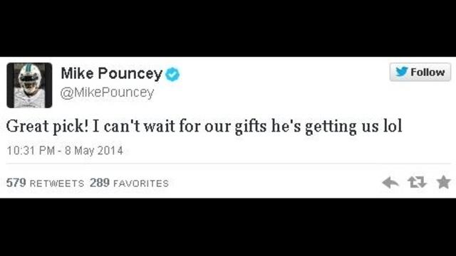 Pouncey Tweet