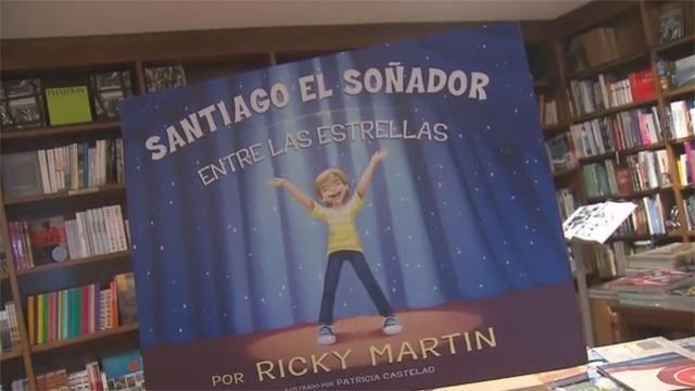 Ricky Martin book