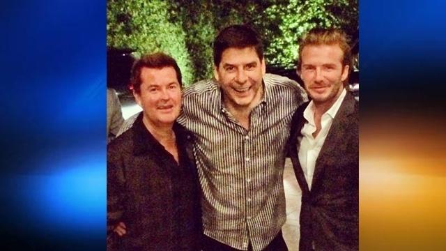 Simon Fuller, Marcelo Claure, David Beckham