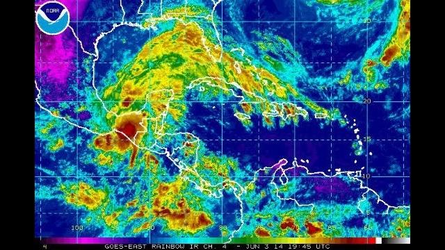 Tropical Storm Boris