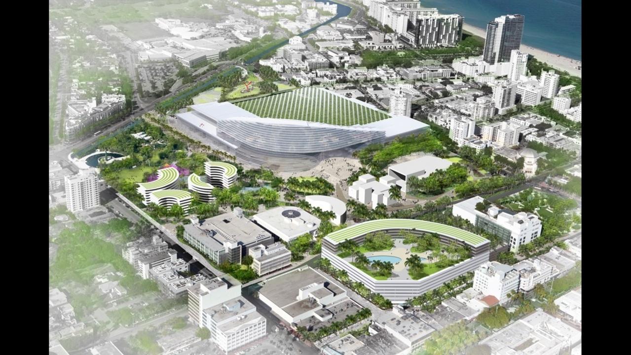 Photos Design Concepts For Miami Beach Convention Center