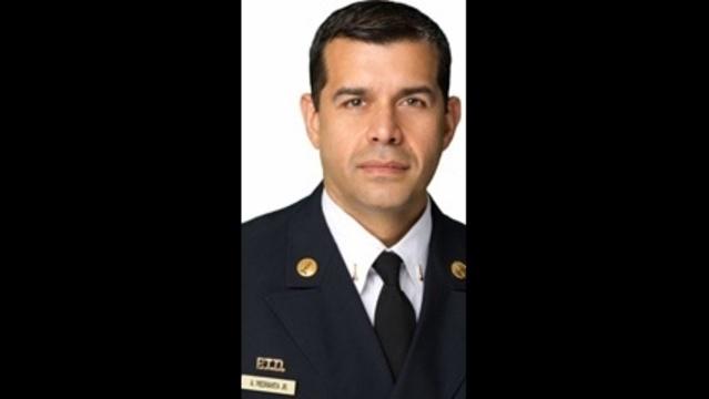 Miami-Dade Fire Rescue's Arnold Piedrahita