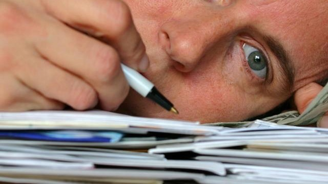 taxes generic paperwork frustration