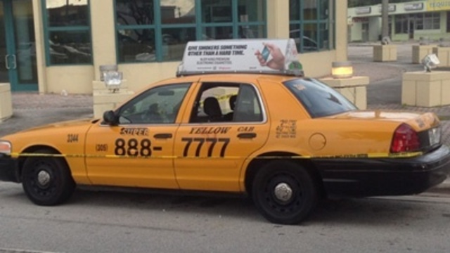 Cabbie shot