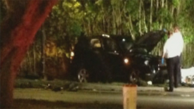 Coral Gables crash