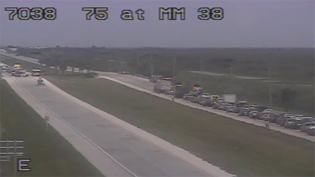 I-75 at MM 38 near Weston