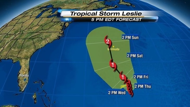 Leslie Tuesday 5pm