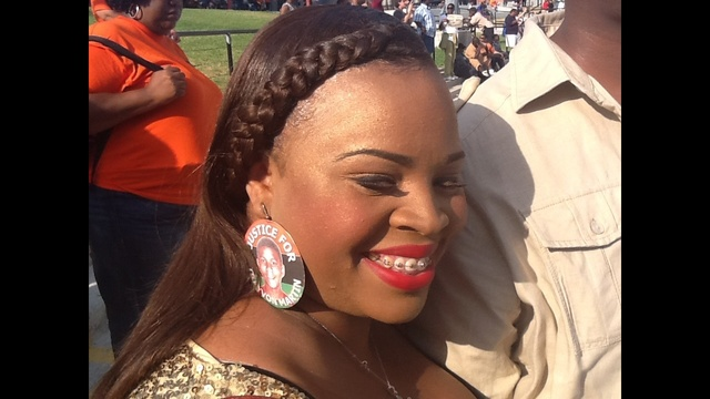 earrings at rally