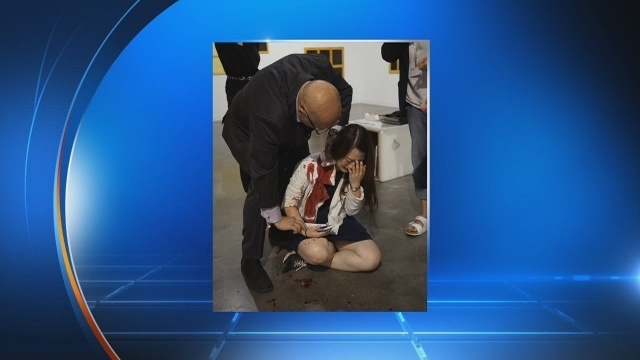 Woman stabbed at Art Basel