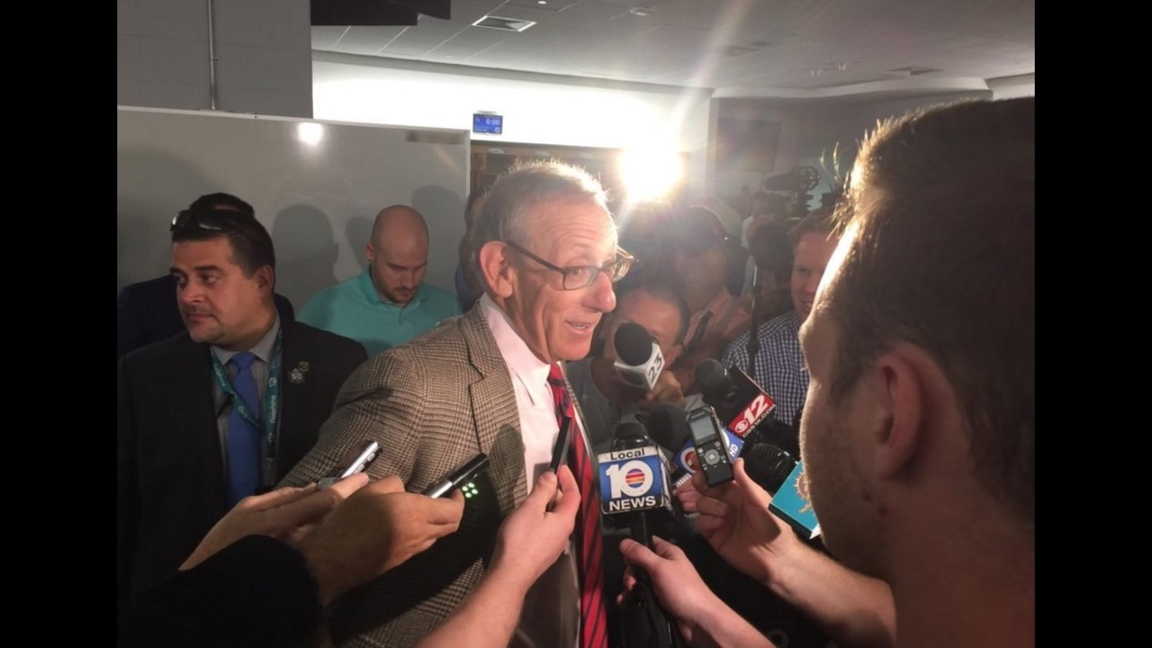 Dolphins Owner Stephen Ross Talks About Coaching Search