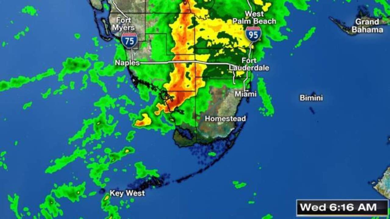 track severe weather in south florida