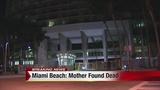 Mother found dead in Miami Beach apartment