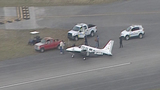 Small plane makes rough landing at North Perry Airport