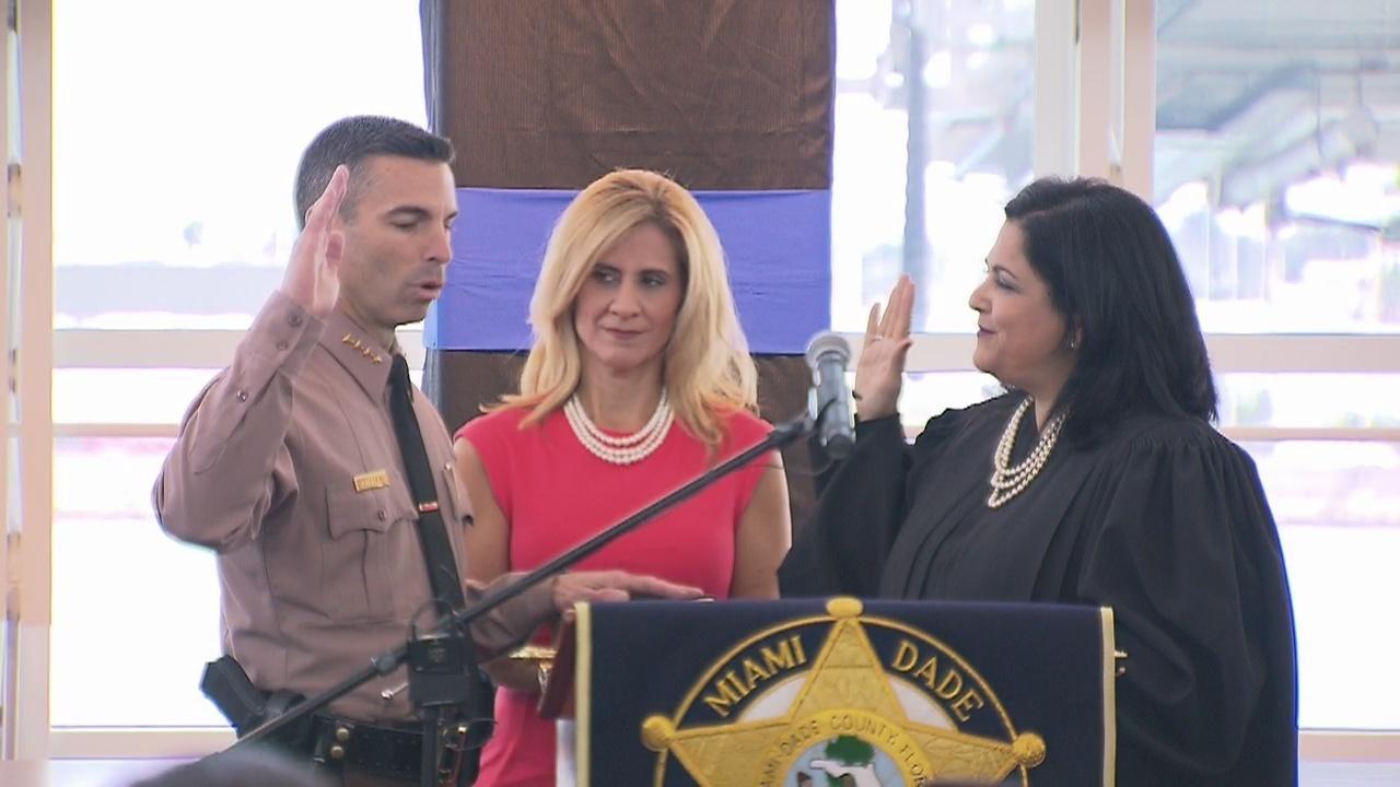 Juan Perez Sworn In As Miami Dade Police Director