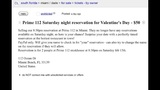 Craigslist ad posted for Prime 112 Valentine