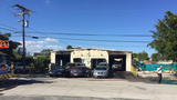 Oakland Park auto repair shop catches fire