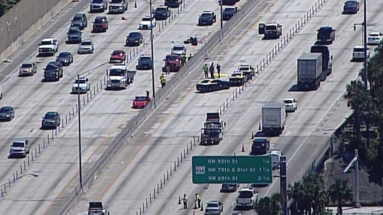Motorcyclist killed in I-95 crash in North Miami