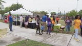 Dozens come out to walk with child in Overtown