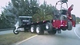 Man claims to have mental disorders after stealing flatbed truck,…