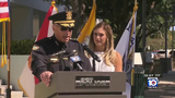 Father of Local 10 News reporter honored during Miami Beach police memorial