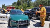 BSO deputy taken to hospital after Plantation crash