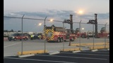 Authorities respond to chemical leak at Port Everglades
