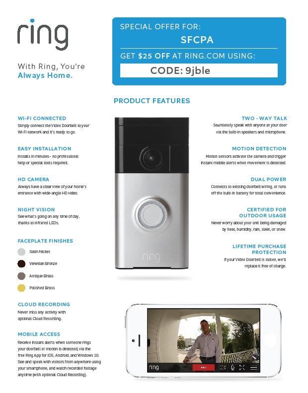 Camera that doubles as doorbell captures burglars in the act