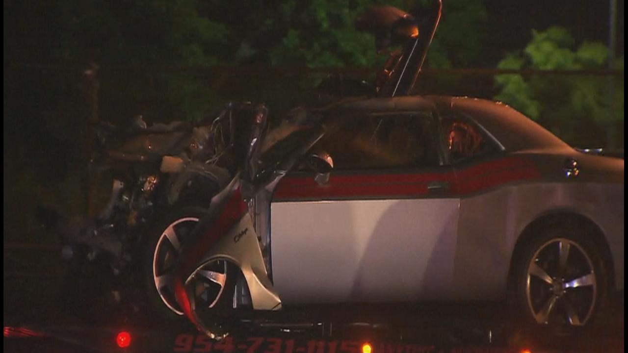 2 Killed In Crash Involving Charter Bus Outside Dillard High