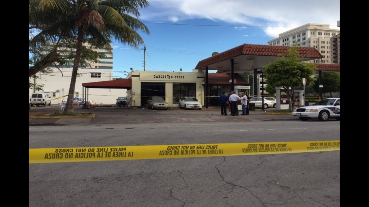 Man Dead After Explosion At Gas Station In Coral Gables