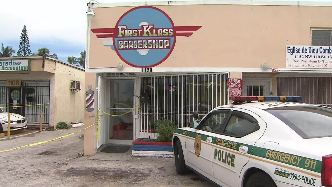 Man shot after fight at barber shop in northwest Miami-Dade
