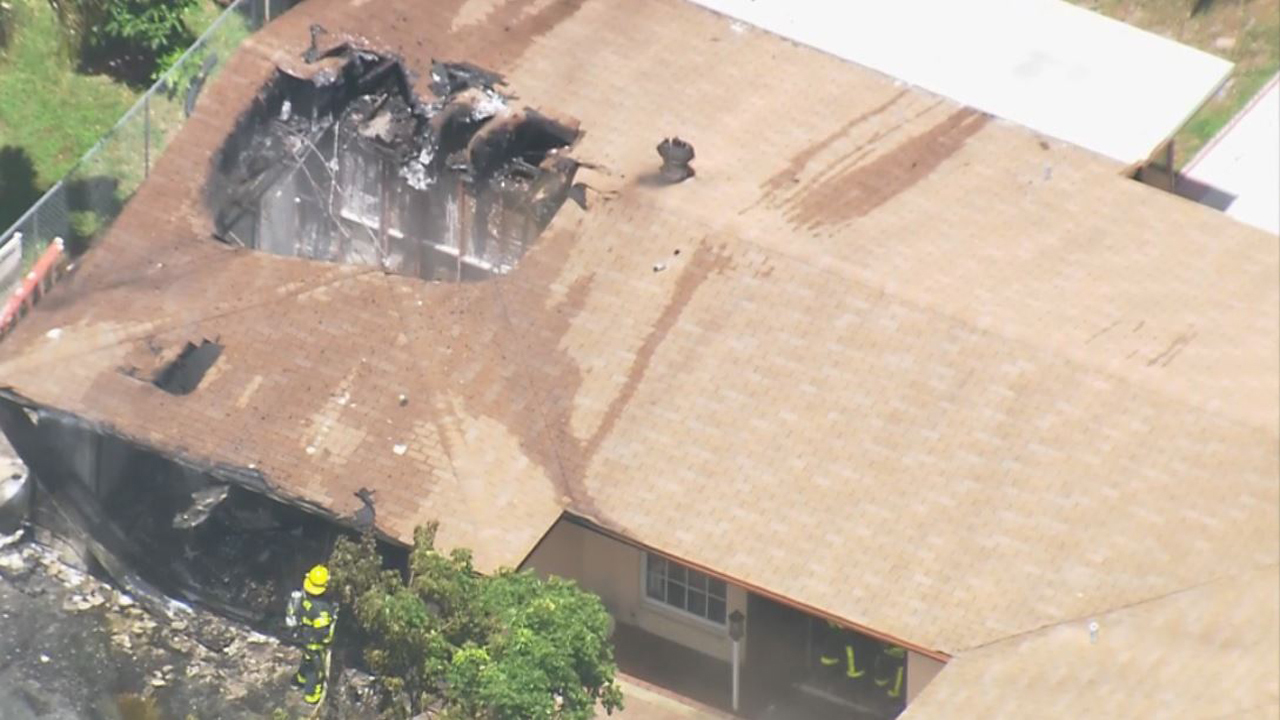Explosion Leaves Large Hole In Roof Of Margate Home