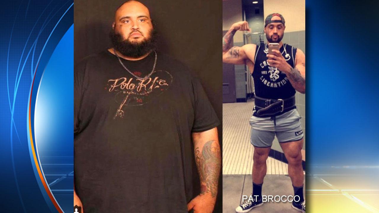 man loses 300 lbs  walking to walmart