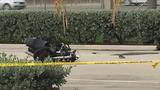 Motorcyclist hospitalized following crash at Oakwood Plaza