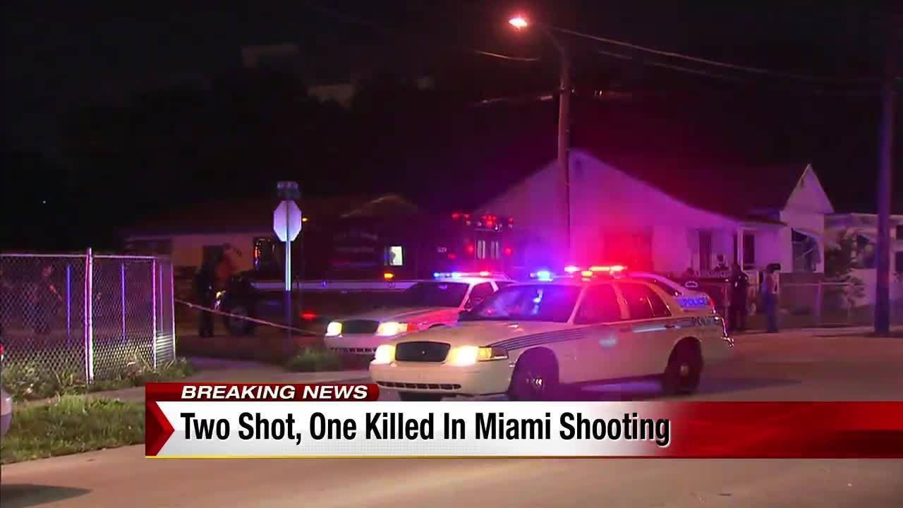 1 Killed 1 Injured In Miami Drive By Shooting